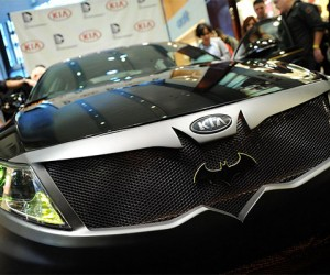 The Kia Optima Batmobile: Batman's Spare Car