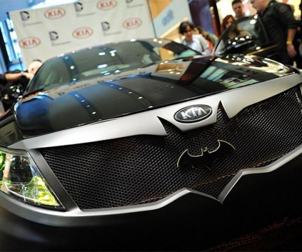 The Kia Optima Batmobile: Batman's Spare Car
