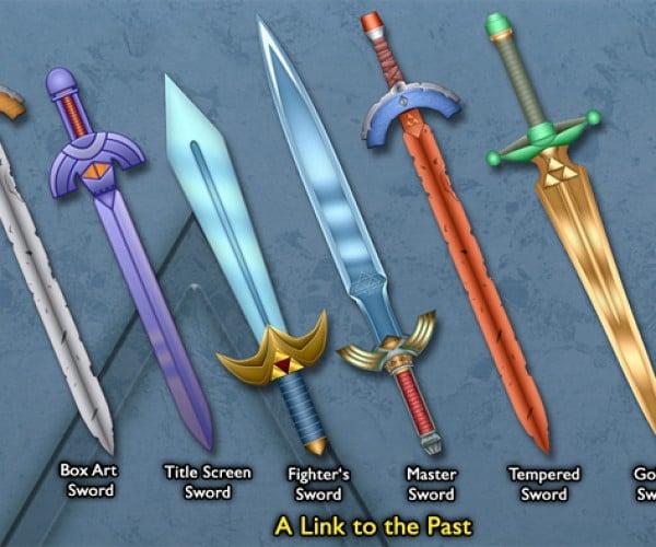 legend of zelda link sword by BLUEamnesiac 3