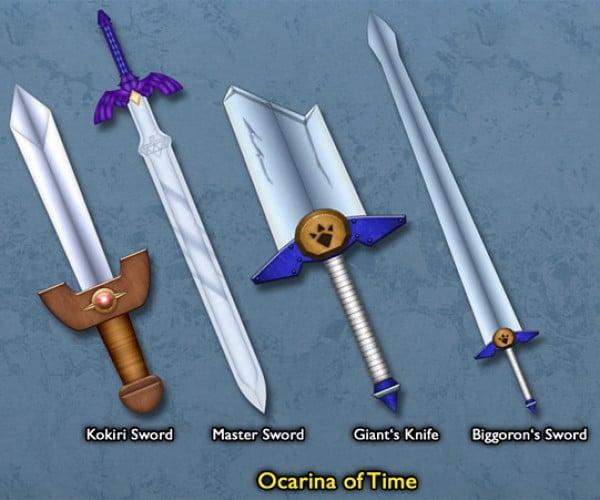 legend of zelda link sword by BLUEamnesiac 4