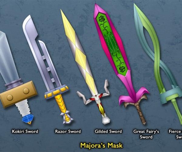 legend of zelda link sword by BLUEamnesiac 5