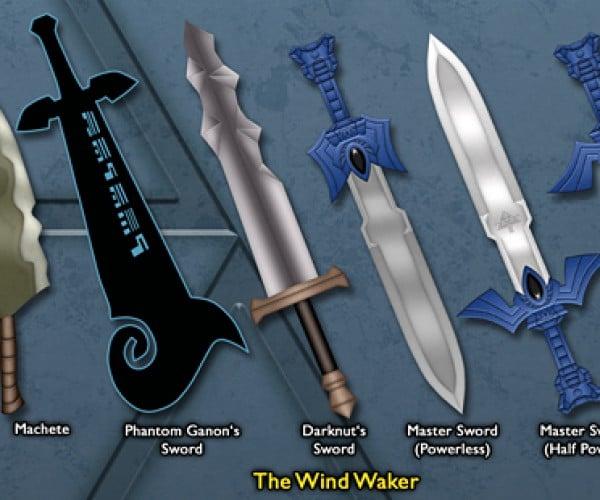 legend of zelda link sword by BLUEamnesiac 6