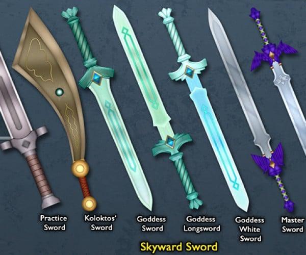 legend of zelda link sword by BLUEamnesiac 7