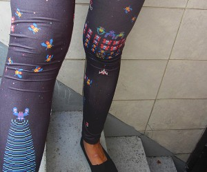 These Geeky Leggings Are Tight(s)