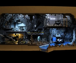 lego batcave by Carlyle Livingston II and Wayne Hussey 300x250