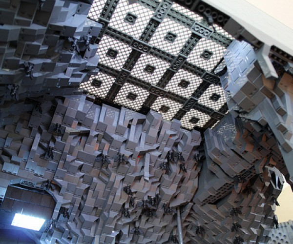 lego batcave by Carlyle Livingston II and Wayne Hussey 7
