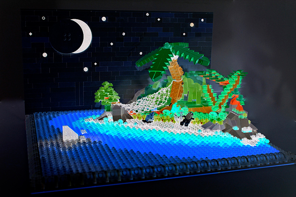 lego invert color island by sean and steph mayo 2