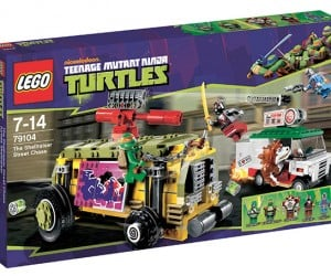 LEGO Teenage Mutant Ninja Turtles: Turtles on the Snap Shell