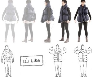 Like-a-Hug Jackets Give You a Hug for Every Facebook 'Like' You Get