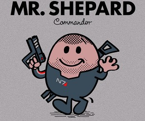 little miss shepard mr shepard mass effect t-shirt 3
