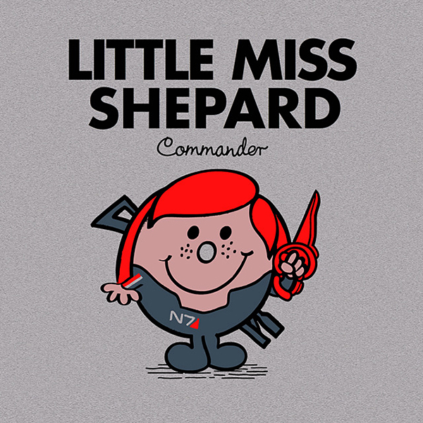 little miss shepard mr shepard mass effect t shirt