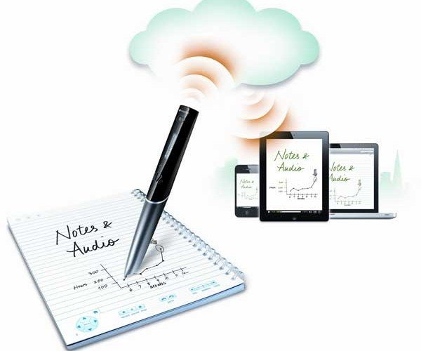 Livescribe Sky Smartpen Instantly Sends Handwritten Notes to the Web