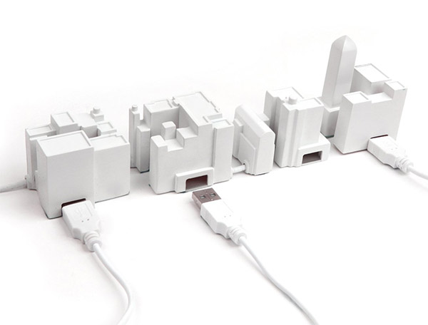 lonely city usb hub 1