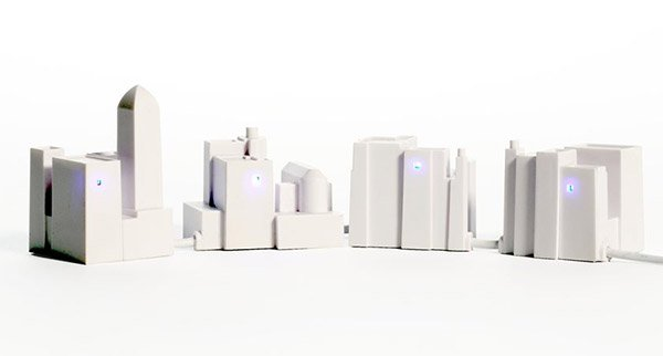 lonely city usb hub 3