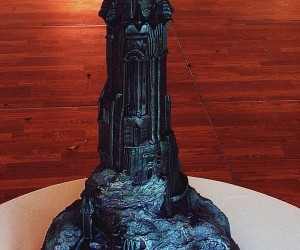 Lord of the Rings Barad-dür Cake Rules All Bread