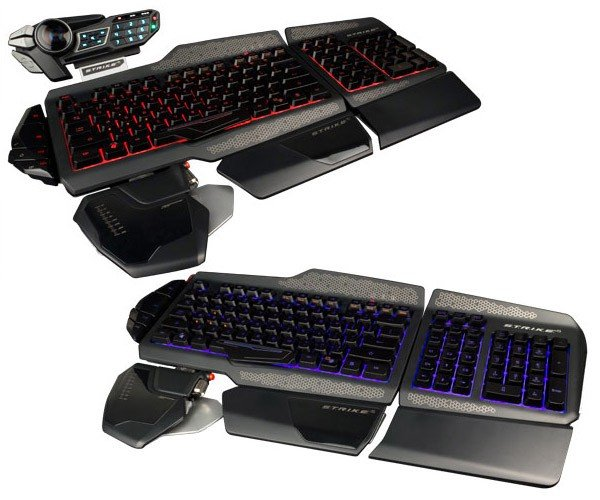Mad Catz S.T.R.I.K.E. 5: Gaming Keyboard, Assemble!