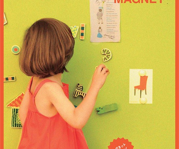 Magnet Paint Transforms Walls into Magnet Boards