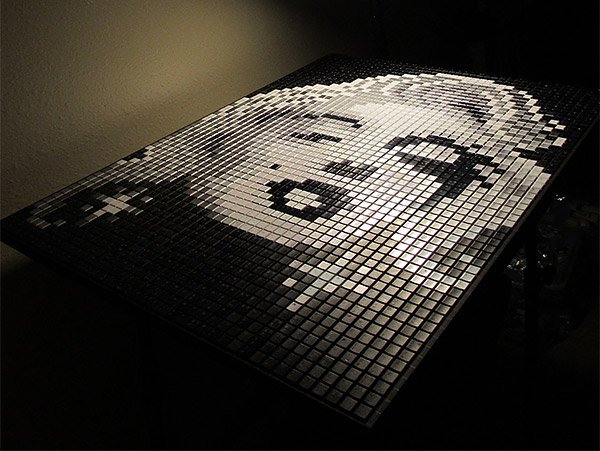 marilyn keyboard art 1