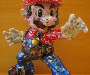 Mario and Other Pop Culture Icons Made from Recycled Cans: The Aluminum Kingdom