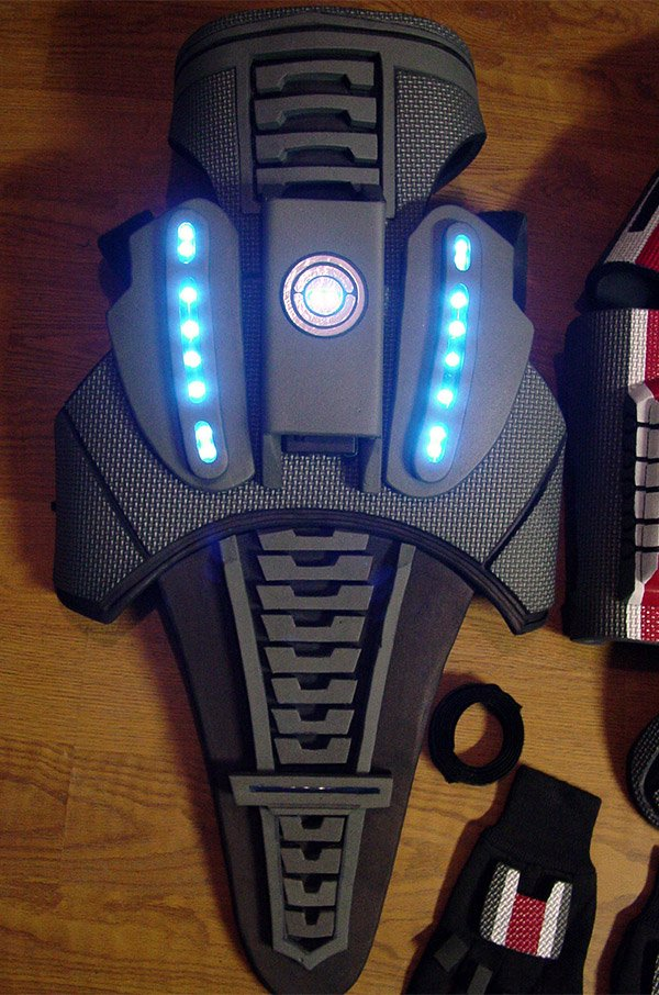 mass effect light up armor