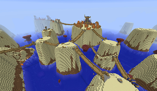 Challenge - can you make this in the customized world type