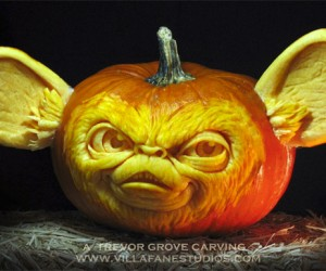 Gizmo Mogwai Pumpkin: Don't Feed It After Midnight