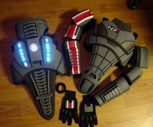 Super Realistic Mass Effect Armor is Massively Expensive