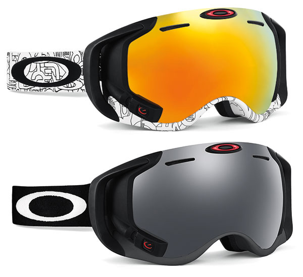 oakley airwave goggle hud colors