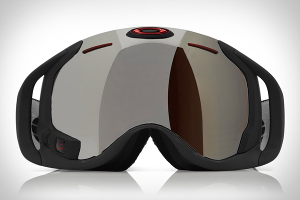 oakley airwave goggle heads up display snowboarding