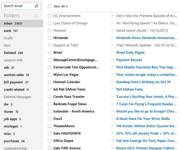 Microsoft Outlook.com: Hands-On Test Drive