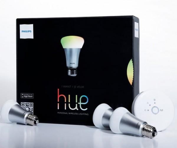 Philips Hue Wi-Fi Light Bulbs Ready to Light up Your Life