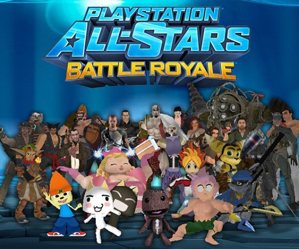 PlayStation All-Stars Battle Royale Characters Play Super Smash Bros. Brawl: Sony vs. Nintendo