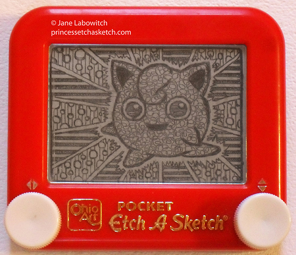 pokemon etch-a-sketch by jane labowitch princess etch-a-sketch 2