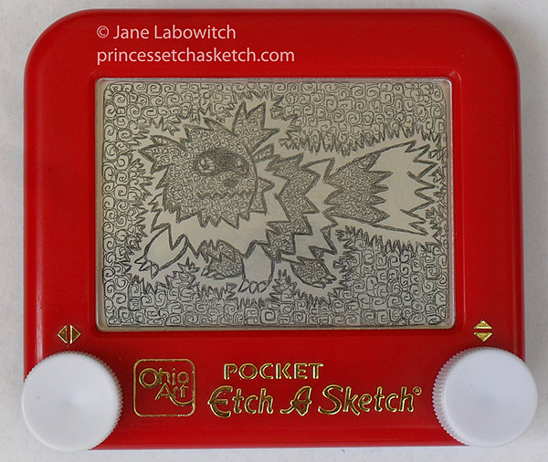 pokemon etch-a-sketch by jane labowitch princess etch-a-sketch 3