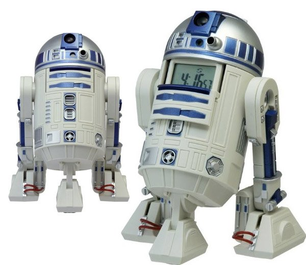 r2 d2 action alarm clock 2