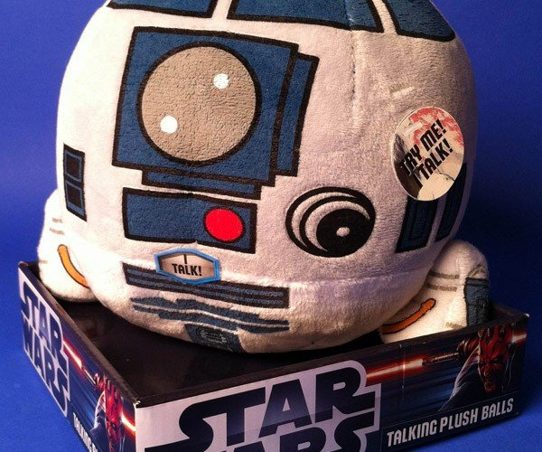 R2-D2 Talking Plush Ball: Spaceballs: The Ball
