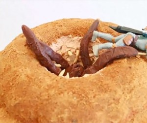 Sarlacc Pit Bundt Cake Devours Everything in Sight