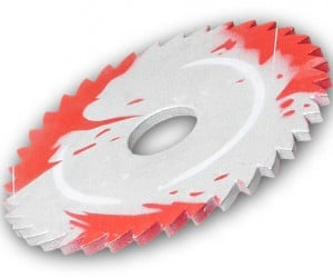 Sawblade Frisbee Won't Cut off Your Fingers When You Catch It