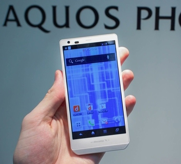 sharp aquos phone white