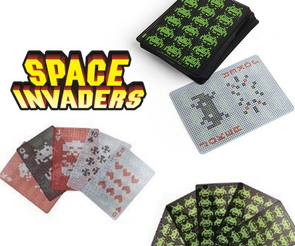 Space Invader Playing Cards Let You Play with the Alien Queen