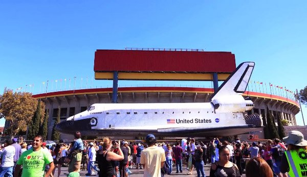 space shuttle los angeles