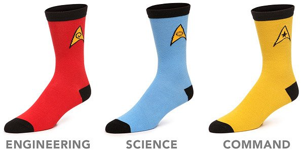 star trek socks 2