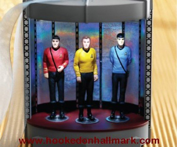 Star Trek Transporter Christmas Ornament: Beam Me up, Santa!