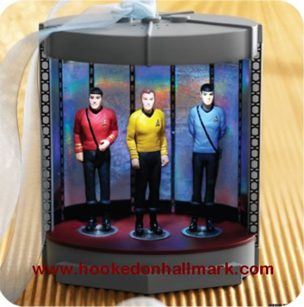 star trek transporter ornament
