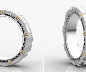 Stargate Wedding Ring Spins You into a Whole New World