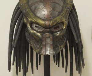 Steampunk Predator Helmet: One Ugly (But Safe) Motherbleeper