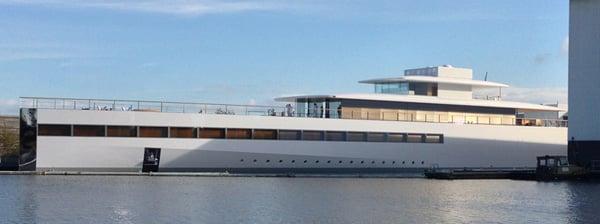 steve jobs yacht design venus netherlands