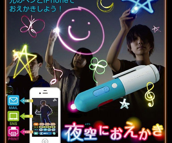 Takara Tomy Arts Penlight Helps You Draw Light Paintings with Ease