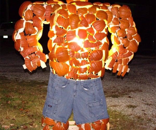 Thing Pumpkin Statue: The Fantastic Gourds