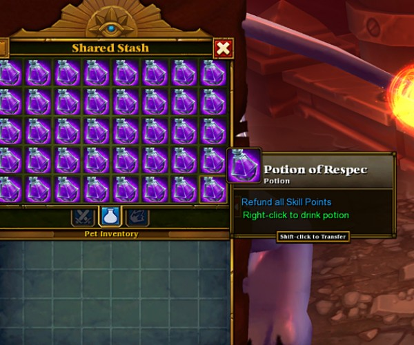 Torchlight II Hack Allows You to Reset Skills Infinitely: Respec My Dodge Mastery